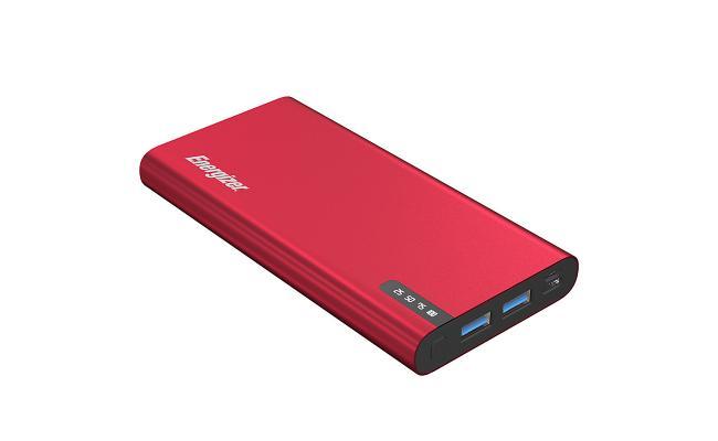 Energizer UE10047PQ 10000mAh 18W Fast Charging Power Bank - Red