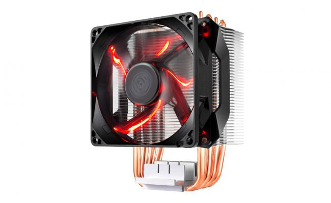 Cooler Master HYPER H410R with 92mm Red LED CPU air Cooler