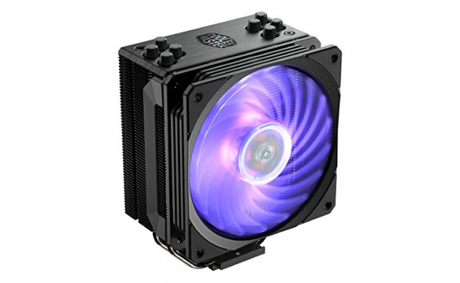 Cooler Master HYPER 212 RGB BLACK EDITION with controller CPU air Cooler