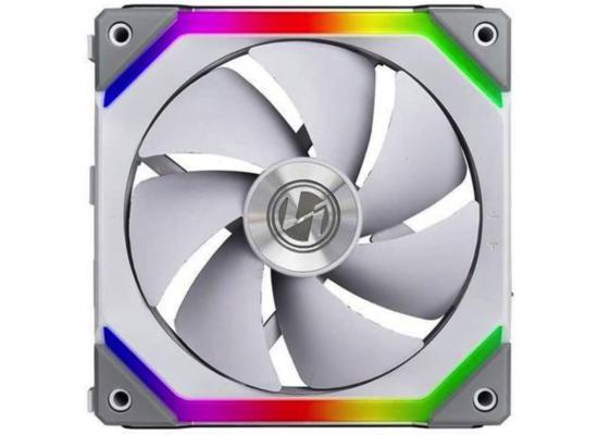 Lian Li UNI Fan SL120 x1 Pack white- (ARGB 120mm LED PWM Daisy-Chain) - Sinle Fan