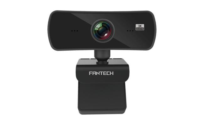 Fantech Luminous C30 QUAD HD WEB CAM(2560X1440),4MP,Ultra Wide Veiwing Angle 106 Degrees ,For Streamers & Youtubers