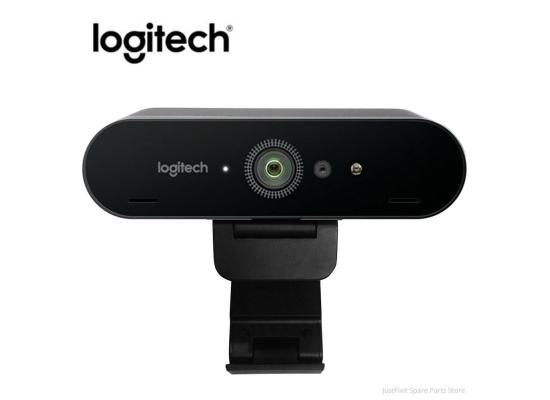 Logitech BRIO 4K PRO HDR & Autofocus Webcam for Video Conferencing, Recording, and Streaming - Black