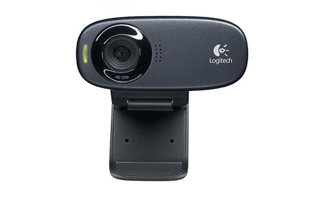 Logitech C310 HD 720p USB Webcam w/ Noise Reduction Mic