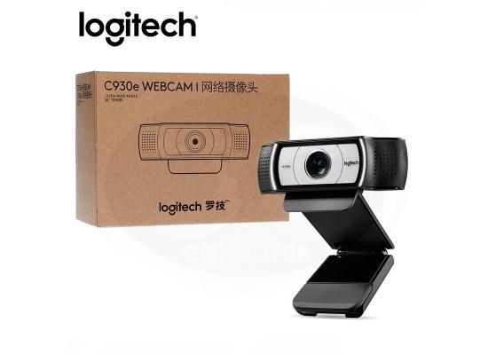 Logitech C930e Business Webcam 1080p 4X Zoom Streaming 90 Degree Widescreen Video Camera, Built in 2 Omni-Directional Mics & Privacy Shutter