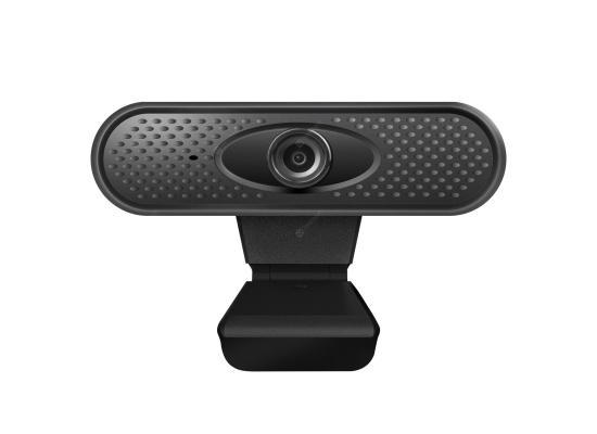 Webcam Full HD (1920 X 1080) Rotatable USB Mini Web Camera with Microphone - Black