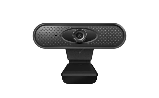 Webcam Full HD (1920 X 1080) Rotatable USB Mini Web Camera with Microphone - Black