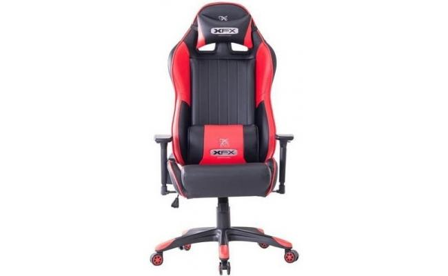 XFX GTR400 Faux Leather Gaming Chair - Red