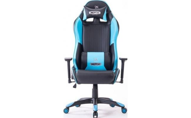 XFX GTR400 Faux Leather Gaming Chair - Blue