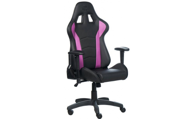 Cooler Master Caliber R1 Gaming Chair - Purple and Black