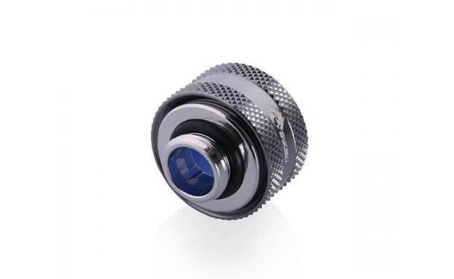 Bykski Anti-Off Rigid, Anti Release Of Hard Tube Fast joint 16mm OD Fitting, Silver (B-FTHTJ-L16)