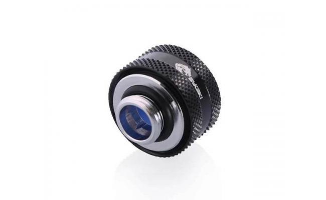 Bykski Anti-Off Rigid, Anti Release Of Hard Tube Fast joint 16mm OD Fitting, Black (B-FTHTJ-L16)