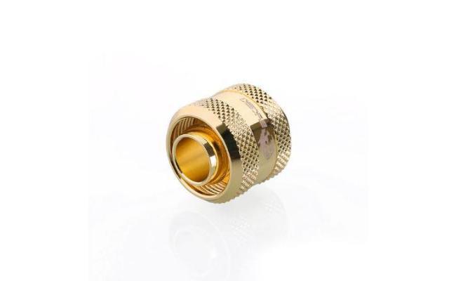 Bykski Flex 10mm ID x 16mm OD Fitting - Gold (B-FT3-TK-V2)