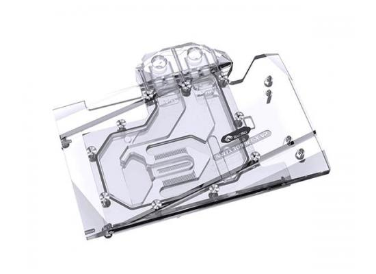 Bykski Full Coverage GPU Water Block and Backplate for nVidia Founders Edition RTX 3090 (N-RTX3090FE-X-V2). 5v Addressable RGB (RBW) Transparent