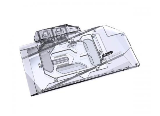 Bykski Full Coverage GPU Water Block and Backplate for ASUS RTX 3070 STRIX (N-AS3070STRIX-X). 5v Addressable RGB (RBW) Transparent