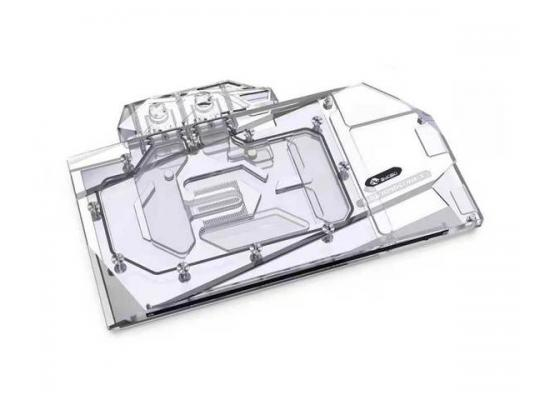 Bykski Full Coverage GPU Water Block and Backplate for ASUS RTX 3080 / 3090 STRIX (N-AS3090STRIX-X-V2). 5v Addressable RGB (RBW) Transparent