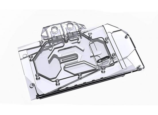 Bykski Full Coverage GPU Water Block and Backplate for ASUS TUF RTX 3090/3080 (N-AS3090TUF-X). 5v Addressable RGB (RBW) Transparent