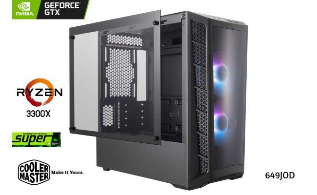 AMD GAMING PC RYZEN 3 3300x //GIGABYTE 1660 SUPER