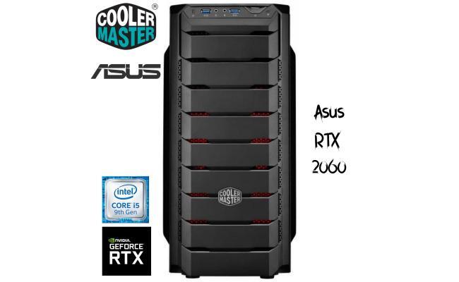 Intel® Core™ i5-9400F W/Asus RTX 2060 turbo