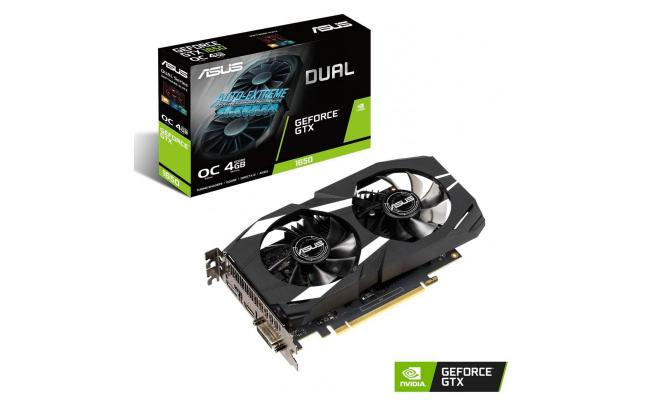 Asus Dual GeForce GTX 1650 OC Edition 4GB GDDR5