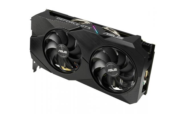 ASUS Dual GeForce® GTX 1660 6GB OC Edition GDDR5 EVO