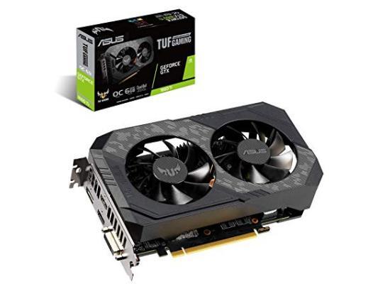Asus  TUF Gaming NVIDIA GTX 1660 Ti OC 6GB GDDR6