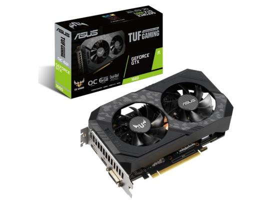 Asus TUF Gaming NVIDIA GTX 1660 OC Dual-Fan 6GB GDDR5