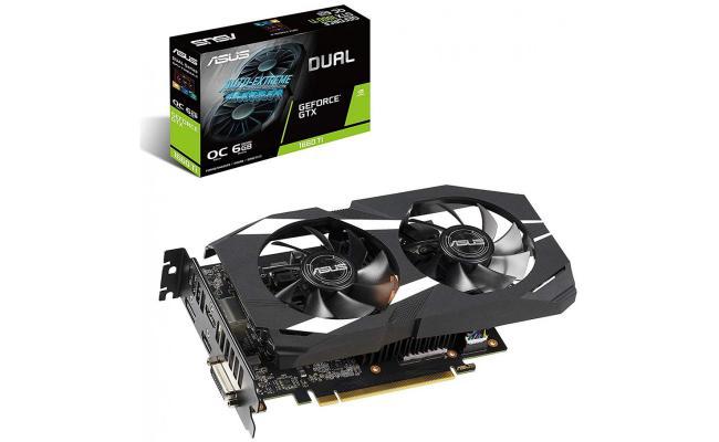 Asus NVIDIA Dual GeForce GTX 1660Ti OC 6GB GDDR6