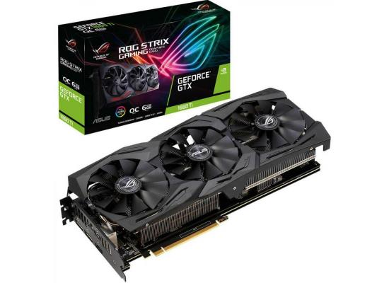 ASUS  ROG Strix GeForce GTX 1660Ti 6GB DDR6 OC Edition