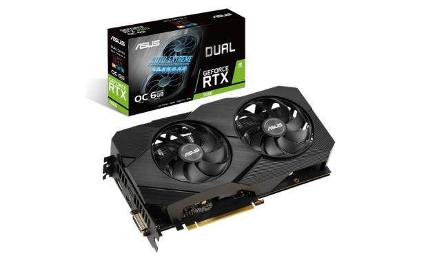 ASUS Dual GeForce RTX™ 2060 OC edition EVO 6GB GDDR6