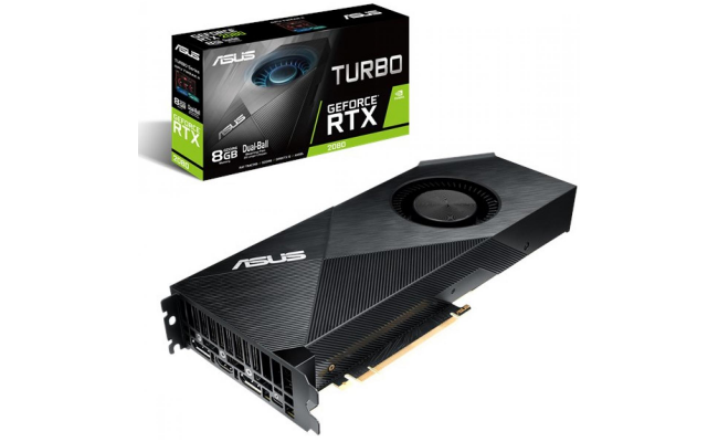 ASUS GeForce RTX 2080 Turbo Edition 8GB GDDR6