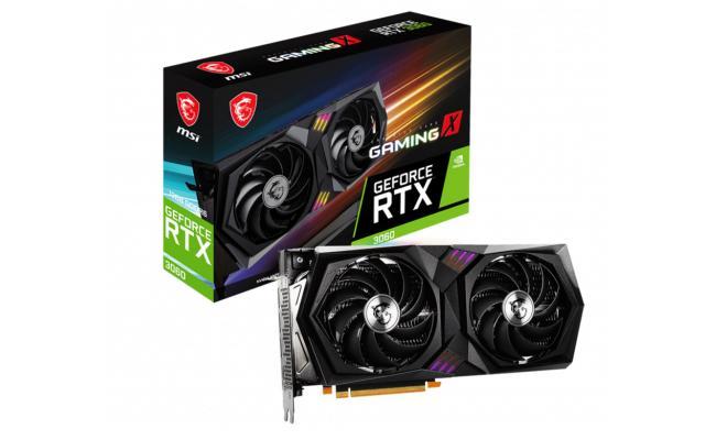 MSI GeForce RTX 3060 GAMING X 12GB - Graphics Card