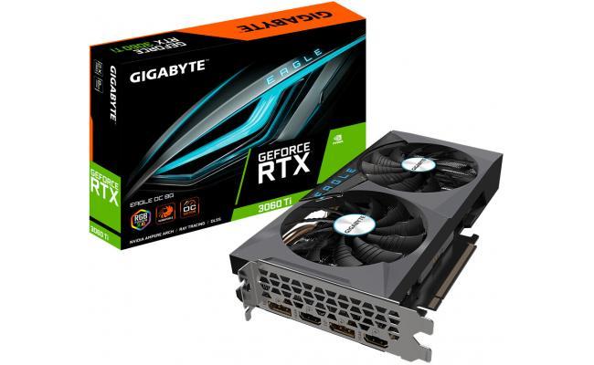 Gigabyte GeForce RTX™ 3060 Ti EAGLE OC 8GB GDDR6