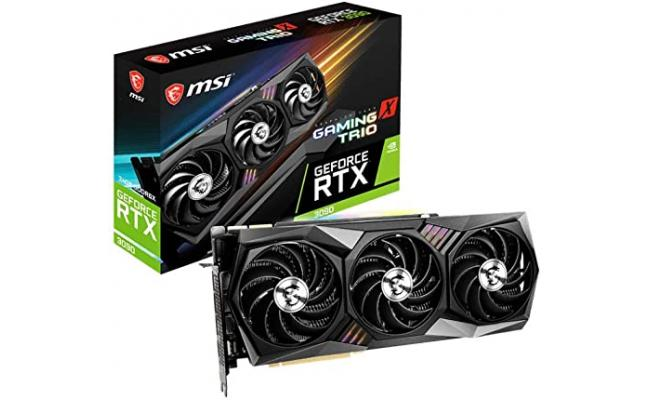 MSI GeForce RTX™ 3090 GAMING X TRIO 24G