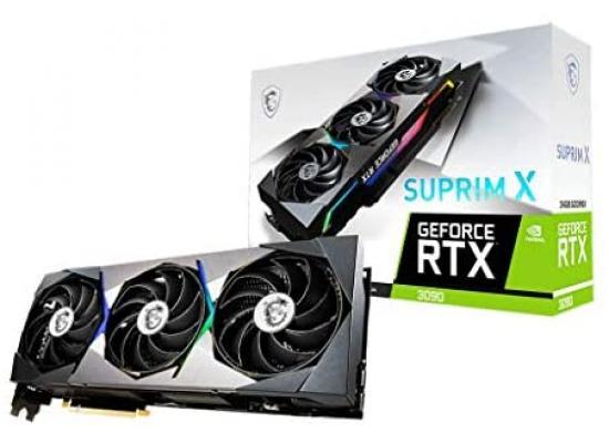 MSI GeForce RTX™ 3090 SUPRIM X 24G (On Custom Build Only)
