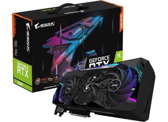 GIGABYTE AORUS GeForce RTX 3090 MASTER 24G GDDR6X - Graphics Card