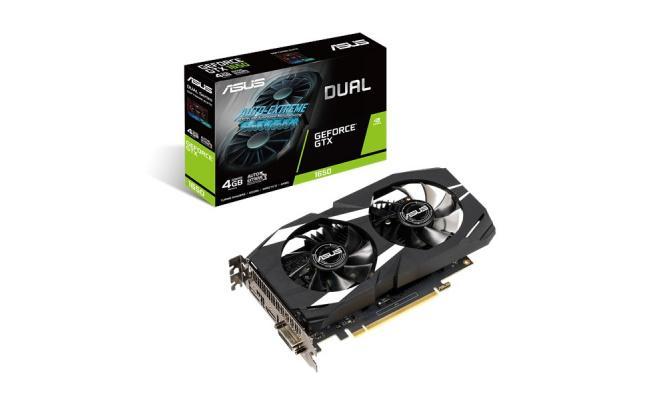 ASUS Dual GeForce® GTX 1650  4GB GDDR5