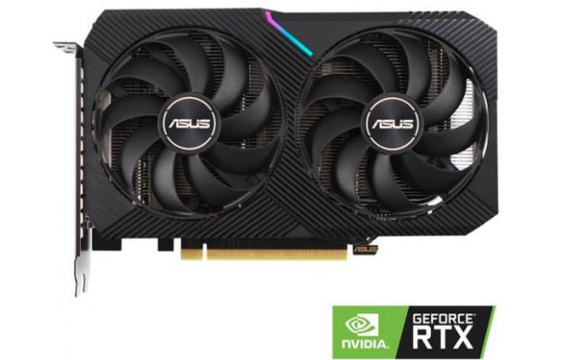 ASUS Dual GeForce RTX 3060 OC Edition GDDR6 12GB 192-bit - Graphics Card (On Custom Build Only)