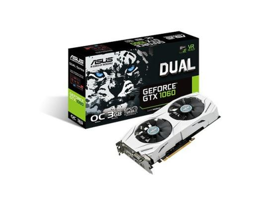 Asus Dual series GTX 1060 OC edition 3GB GDDR5