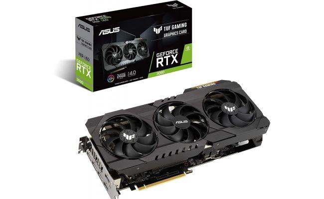 ASUS GeForce RTX™ 3090 TUF 24GB (On Custom Build Only)