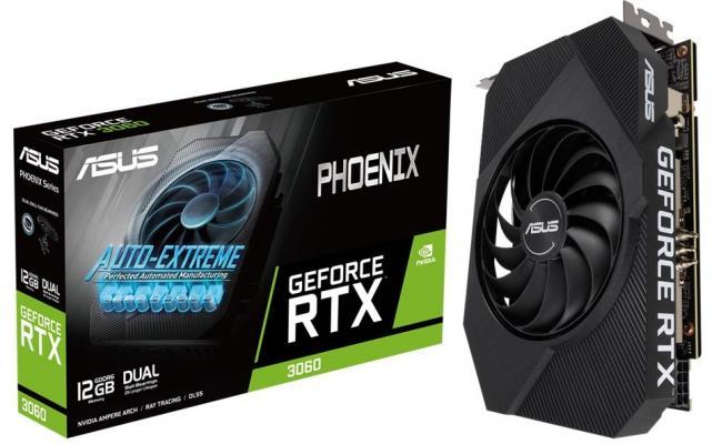 ASUS Phoenix GeForce RTX™ 3060 12GB GDDR6 - Graphics Card