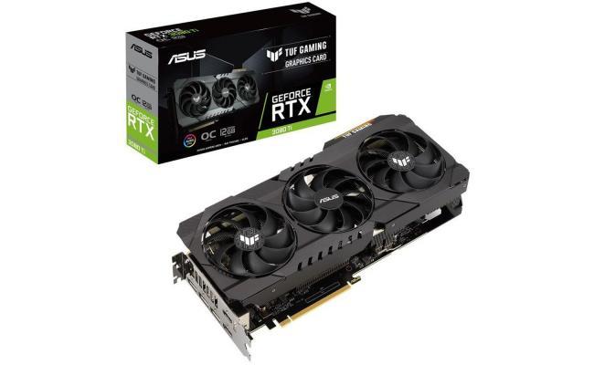 ASUS TUF Gaming GeForce RTX™ 3080 Ti 12GB GDDR6X Graphics Card