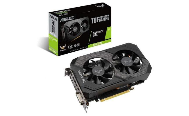 ASUS TUF GeForce GTX 1660 SUPER 6GB GAMING OC Edition (On Custom Build Only)