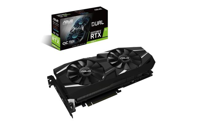 Asus Dual GeForce RTX 2080Ti OC edition 11GB GDDR6