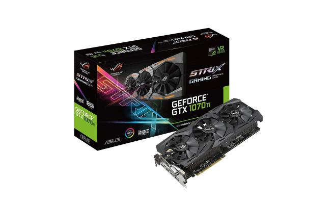 Asus ROG Strix GTX 1070Ti Advanced edition 8GB GDDR5