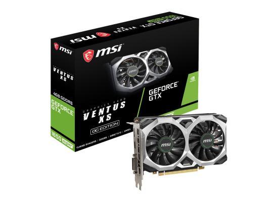 MSI NVIDIA GeForce 1650 SUPER 4GB VENTUS XS OC GDDR6