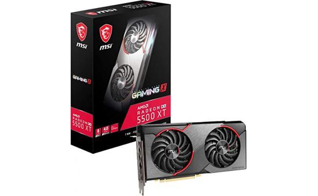 MSI AMD RADEON 5500XT GAMING X 8GB
