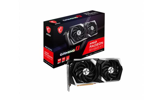 MSI AMD Radeon™ RX 6600 XT GAMING X 8G GDDR6 OC - Graphics Card