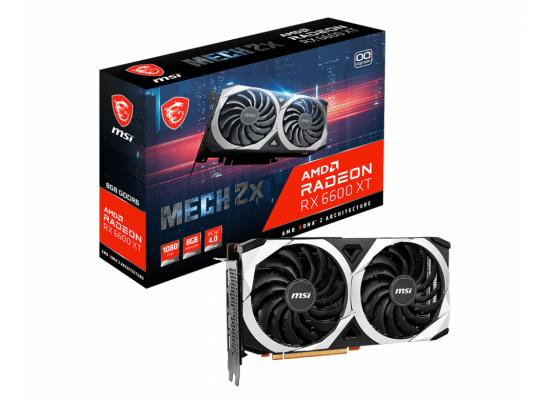 MSI AMD Radeon™ RX 6600 XT MECH 2X 8G GDDR6 OC - Graphics Card