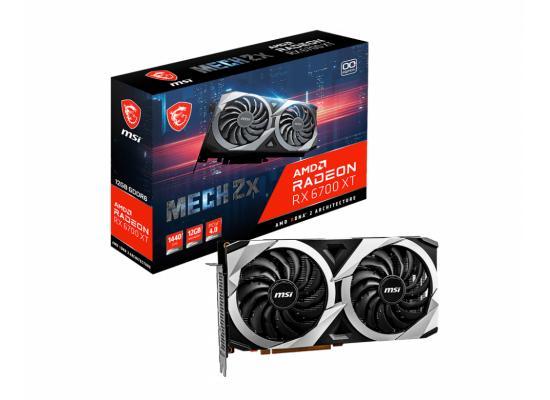 MSI AMD Radeon™ RX 6700 XT MECH 2X 12G GDDR6 OC - Graphics Card