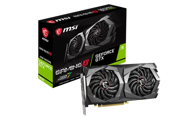 MSI NVIDIA GeForce GTX 1650 D6 GAMING X 4GB GDDR6 - Graphics Card